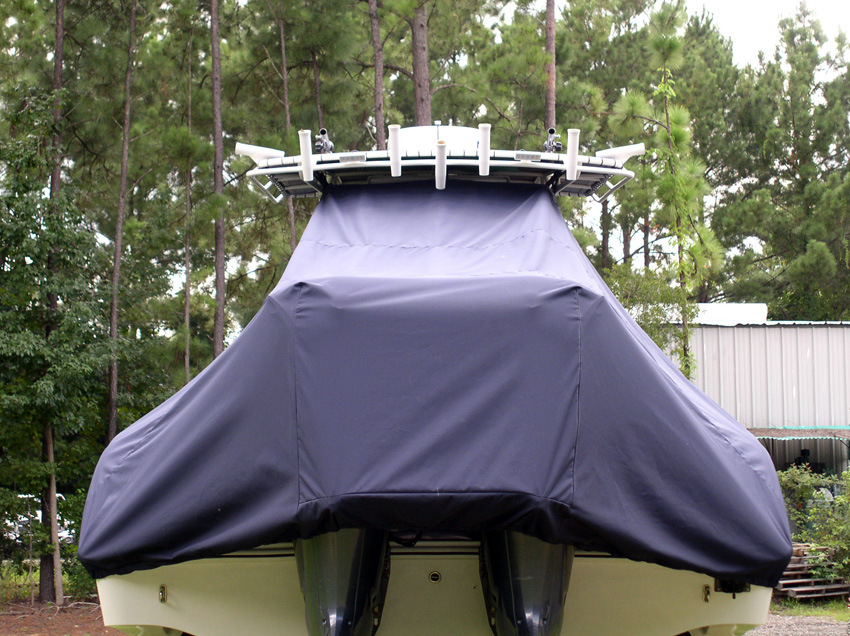 Custom T-Top Boat Covers from Taylor Made Products
